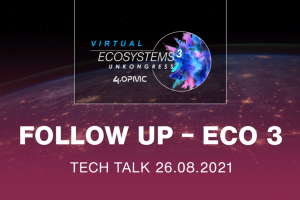 Ecosystems 3 – Follow Up: Technology Pitches